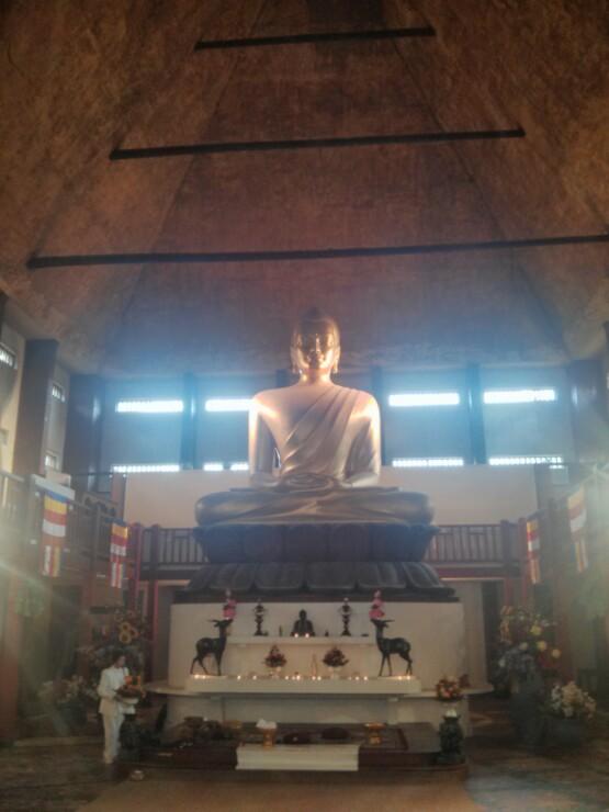 Bouddha Pagode de Vincennes