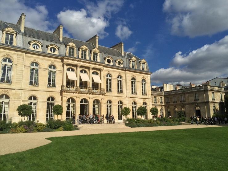 Journées européennes du patrimoine à l'Élysée