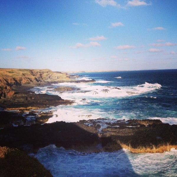 Phillip Island's dead end.