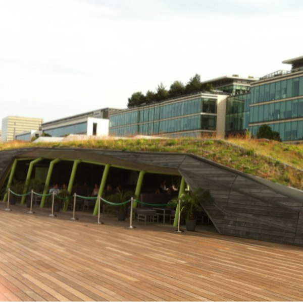 Terrasse Cité de la Mode et du Design