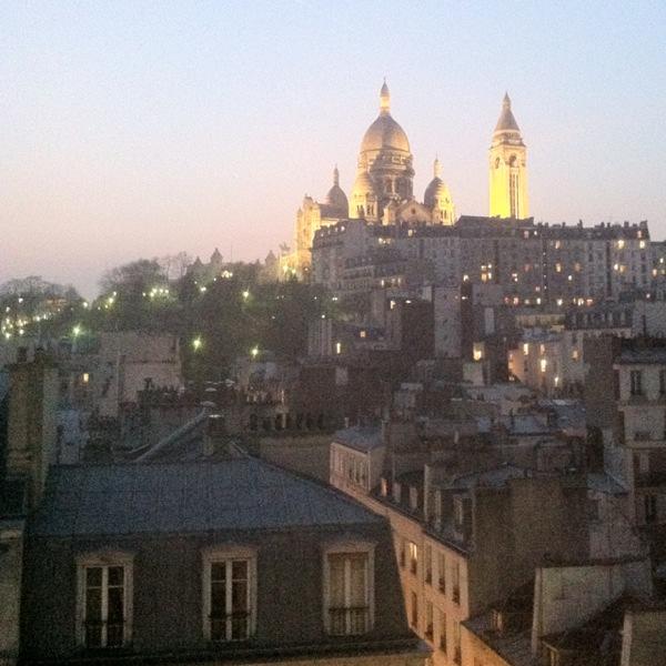 View over Sacré-Coeur